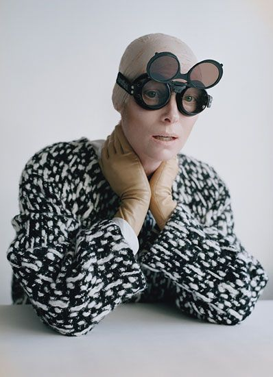Tilda Swinton photographed by Tim Walker for W Magazine