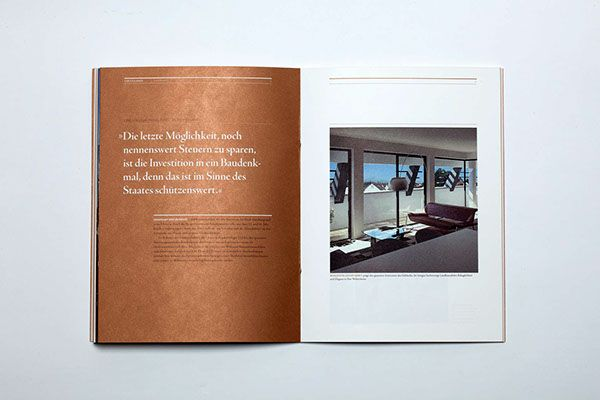 Visculenhof Brochure on Editorial Design Served