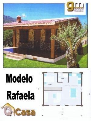 Casa prefabricada de hormigón modeló RAFAELA - by Piscinas Gallegas