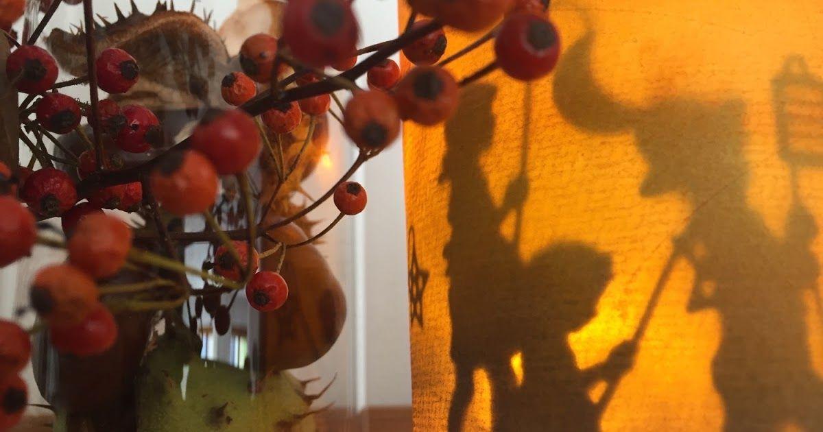 Gestern Abend hat sich spontan Besuch angesagt ... da wollte ich noch eine kleine Herbst-Deko für den Esstisch zusammenstellen ... Kastanie...