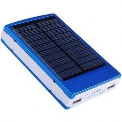 Cargador Portatil Power Bank Solar Casa Inteligente