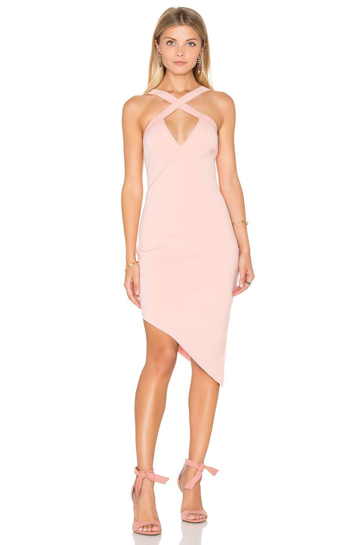 Revolve banditti cross dress by bec u bridge in pink salt
