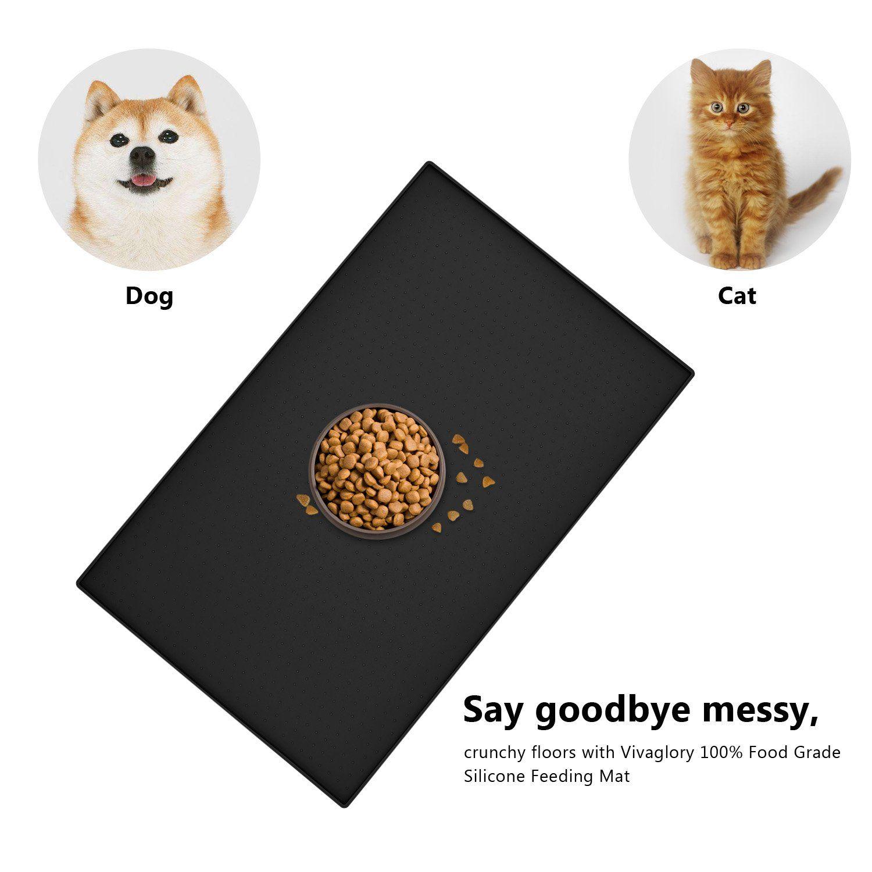 Goldwheat pet food mat dog feeding mat large waterproof