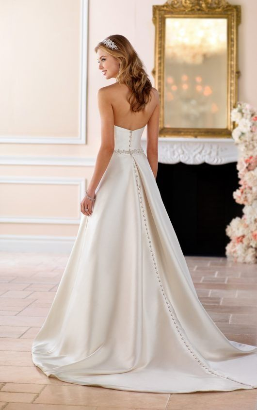 6b19ad9d9ba 6446 Structured Ball Gown with Pockets by Stella York