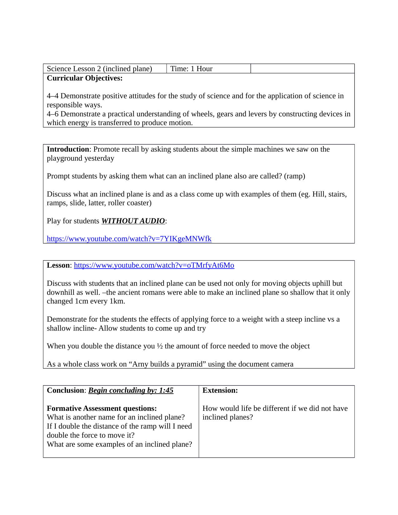 worksheet Inclined Plane Worksheet inclined plane lesson resource preview grade 4 wheels and levers preview