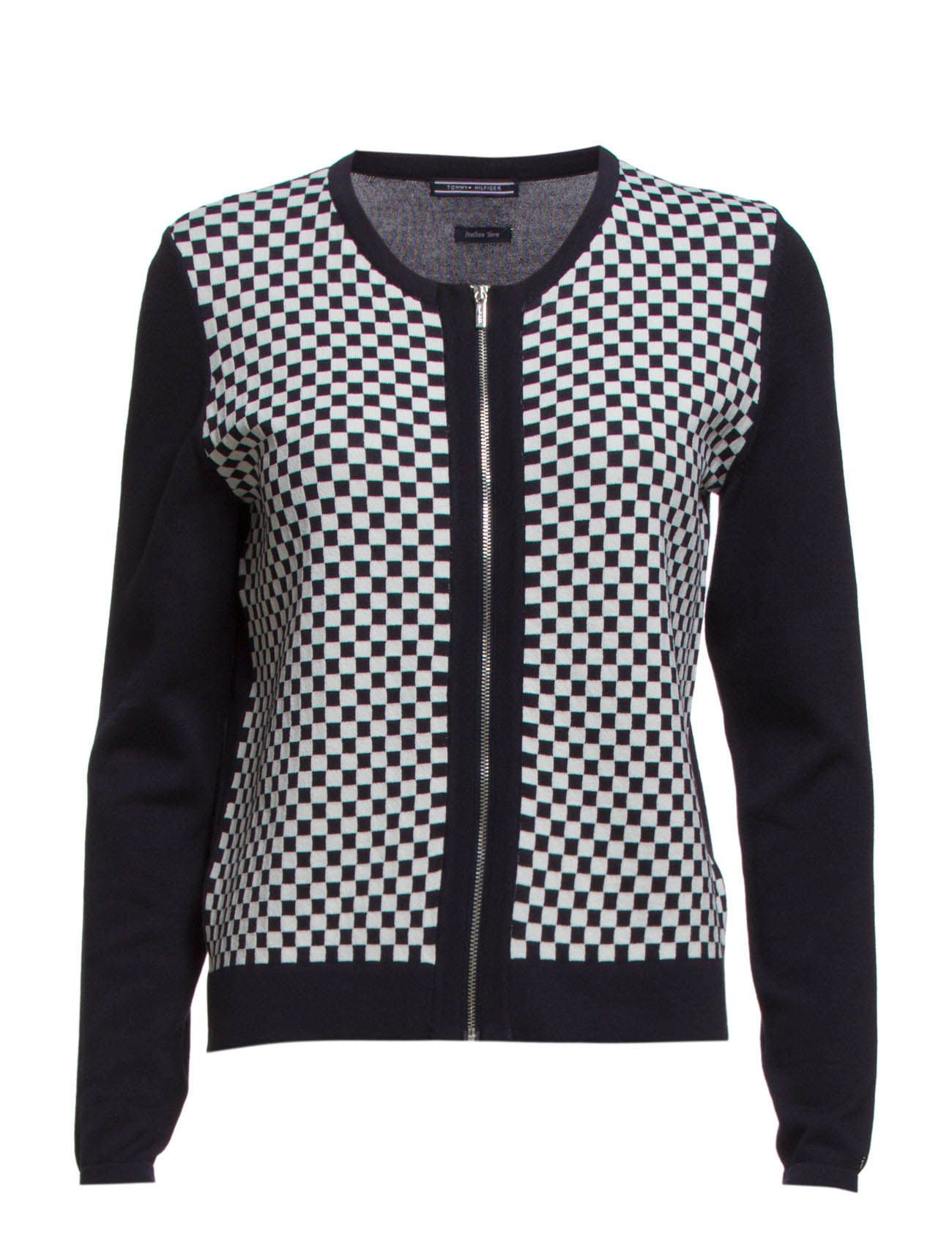 RULO CHECKED C-NK CARDI