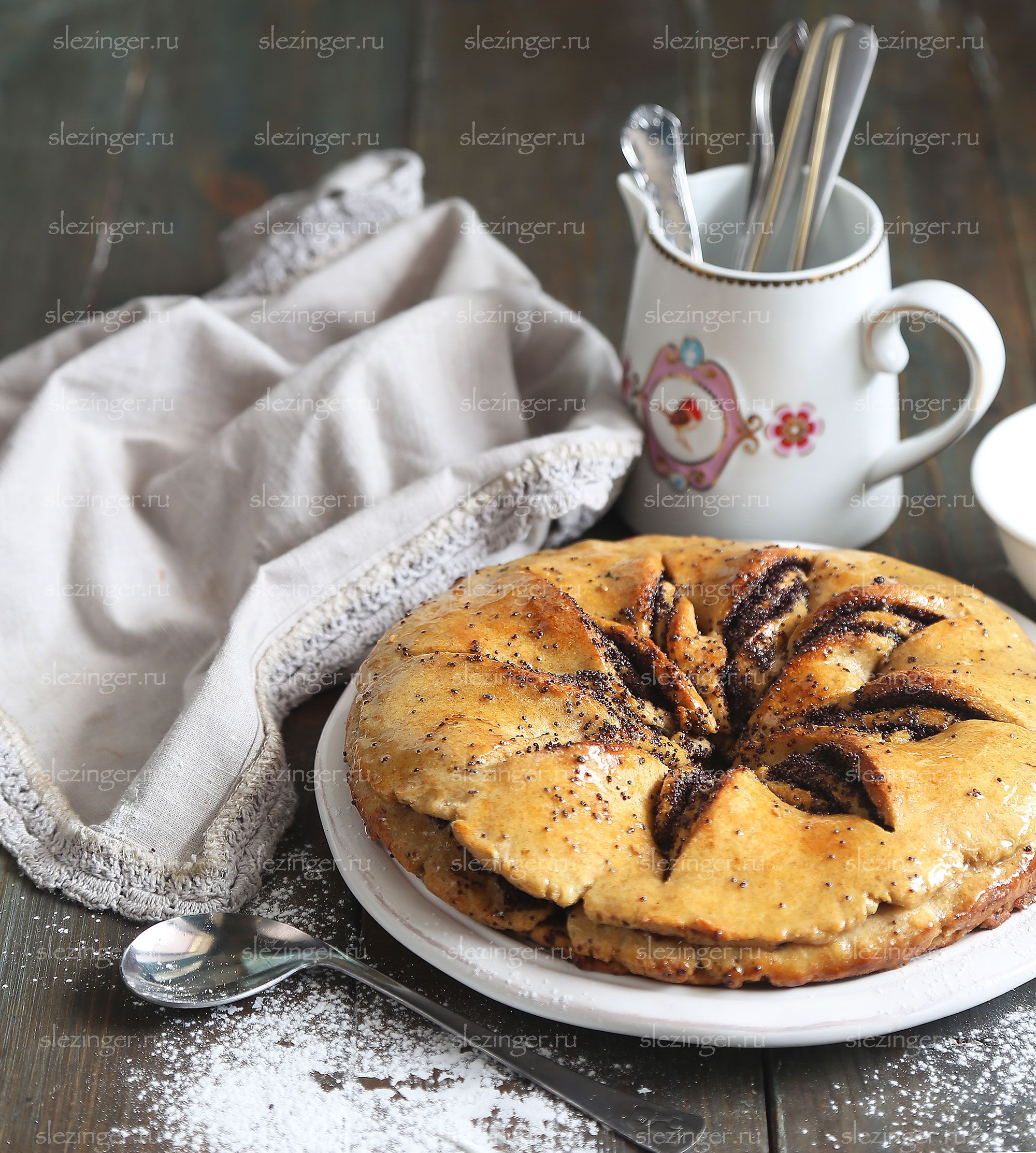 Полезные пирог с маком   Рецепты правильного питания - Эстер ...