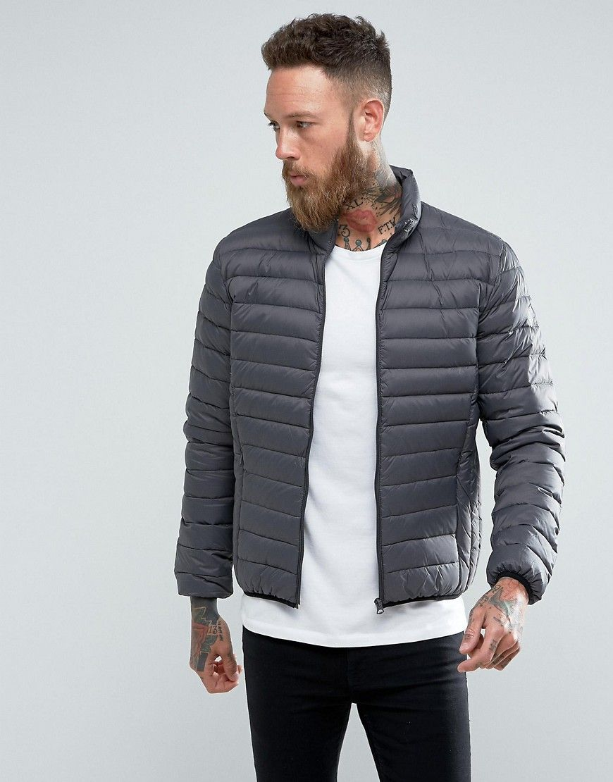Pin On Men S Jackets Quilted Jacket Asos [ 1110 x 870 Pixel ]