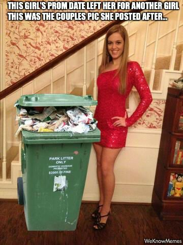 This Girl Gets Back At Her Prom Date In The Best Way