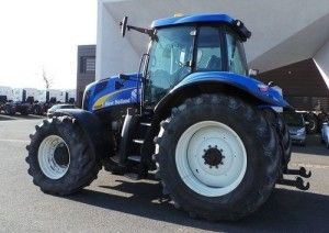 New Holland T8010 T8020 Master Tractor Workshop Service Repair ... on