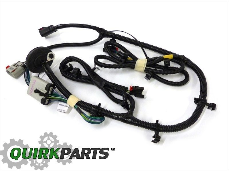 Jeep liberty l fuel tank gas wiring harness