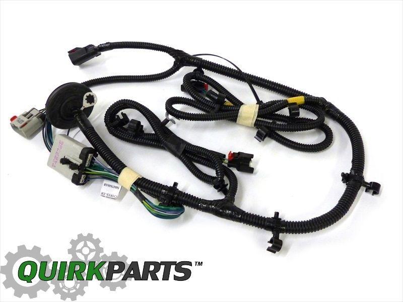 2006 jeep liberty 3.7l fuel tank gas tank wiring harness