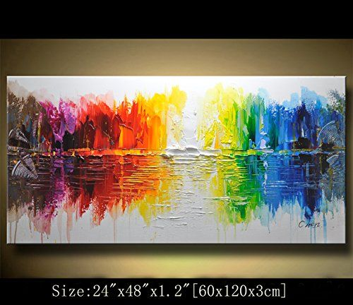 Modern Canvas Art Wall Decor Abstract Oil Painting Contem Https