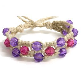 Wide Hemp Bracelet Jewelry Making And Ideas