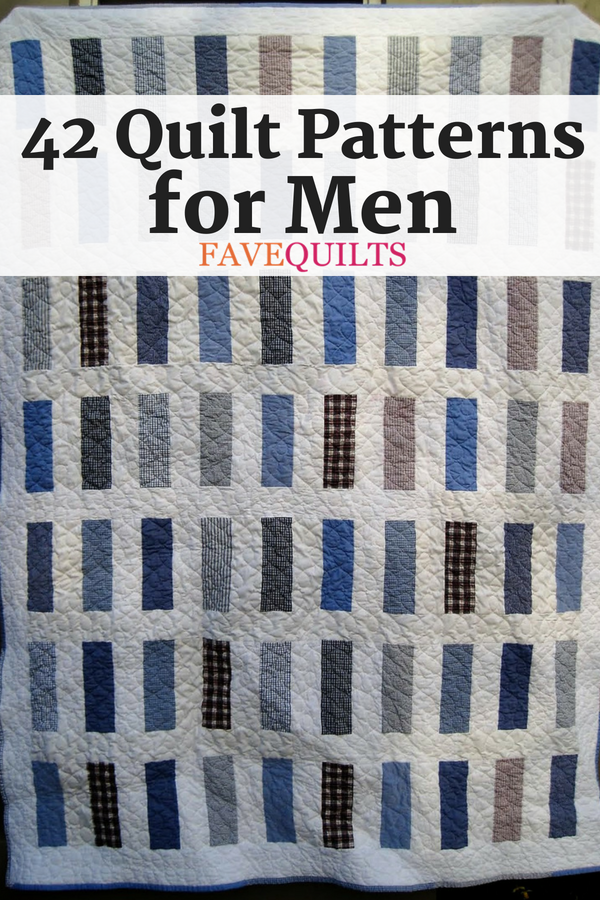 40 Quilt Patterns for Men 40 Pins to Try Pinterest Dads Gorgeous Quilt Patterns For Men