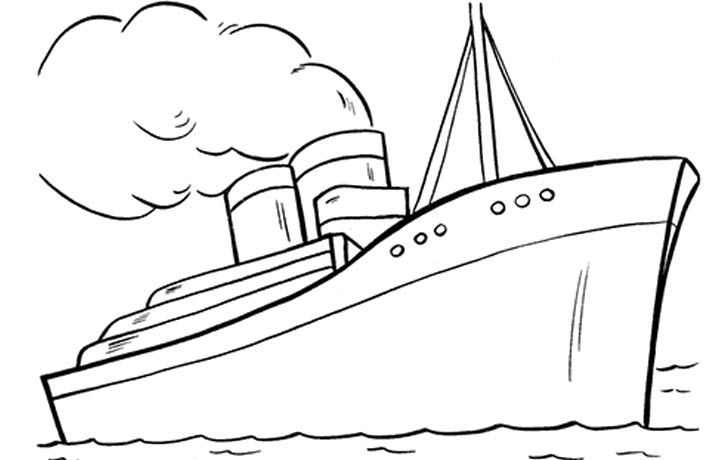 10 Best Boats And Ships Coloring Pages For Your Little Ones With