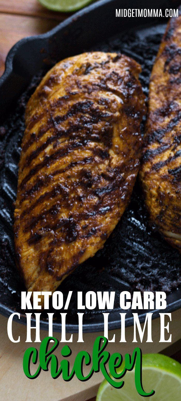 Grilled Chili Lime Chicken (Perfect for a Main Dish, Salads & More)