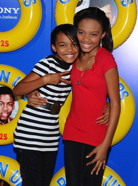 China Mcclain Grown Up 2 Babies And Their Pas Anne Ups Premiere