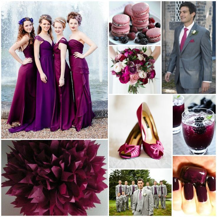 A Sangria Inspired Wedding Is One Of Pantone S 2017 Fall Colors Or Marsala The Color I Want
