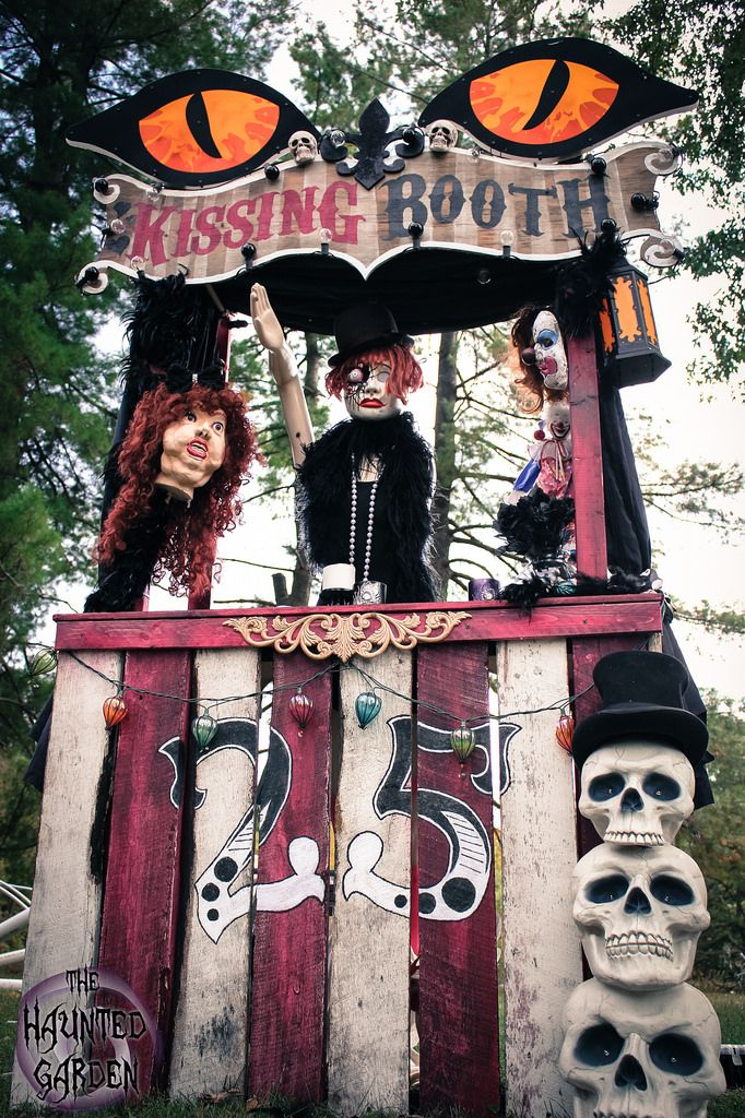 Halloween Ticket Booth