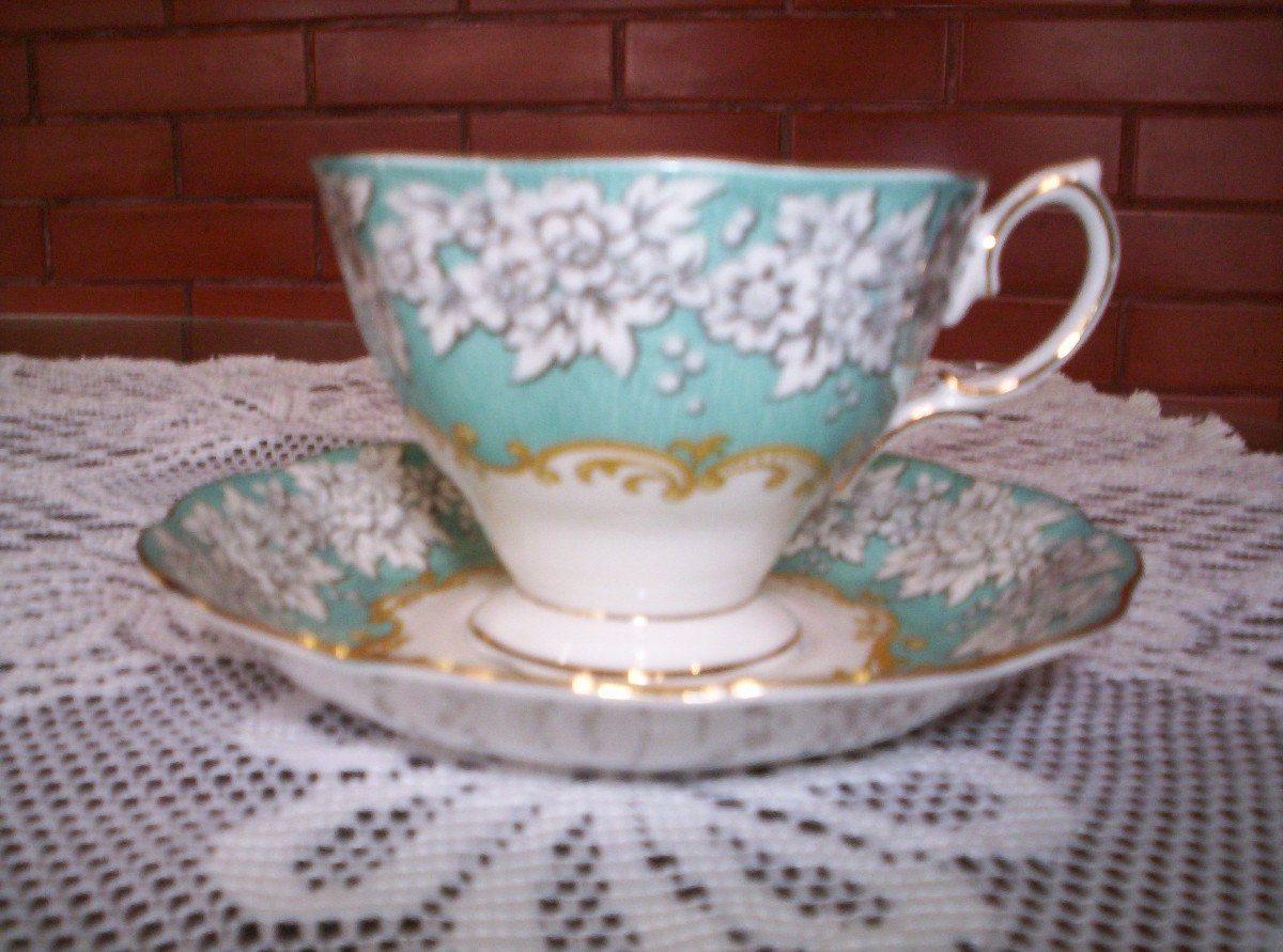 Taza de te de porcelana inglesa royal albert tazas de te for Tazas porcelana
