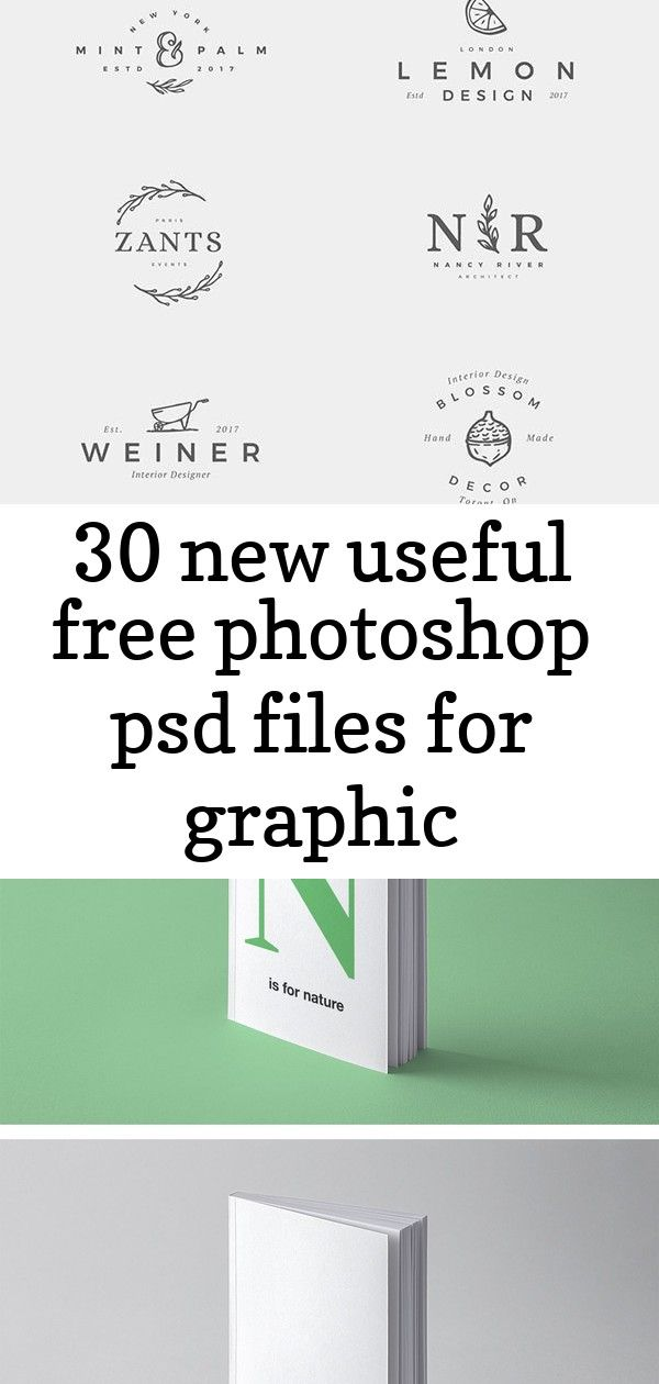 30 new useful free photoshop psd files for graphic designers Logos Book Perspective Mockup —  Full screen smartphone mockup design | premium image by  / Ake