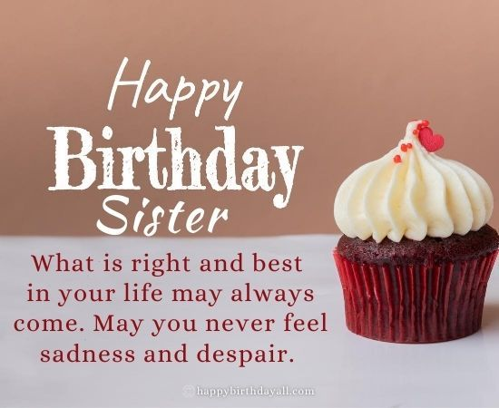 Best Birthday Wishes for Younger Sister | Bday Quotes For Little Sis