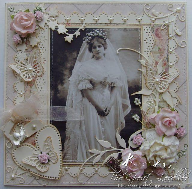 The Great Leveller: Make My Monday - GDT - Vintage Wedding