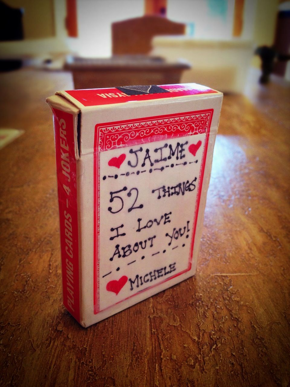 I Love You Crafts 52 Reasons I Love You Craft Craft Ideas Pinterest 52