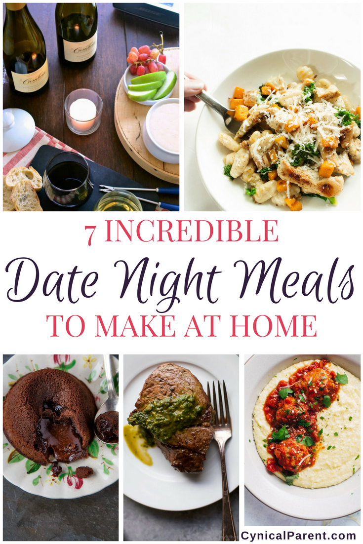7 Incredible Date Night Meals to Make at Home | Meals, Recipes and ...