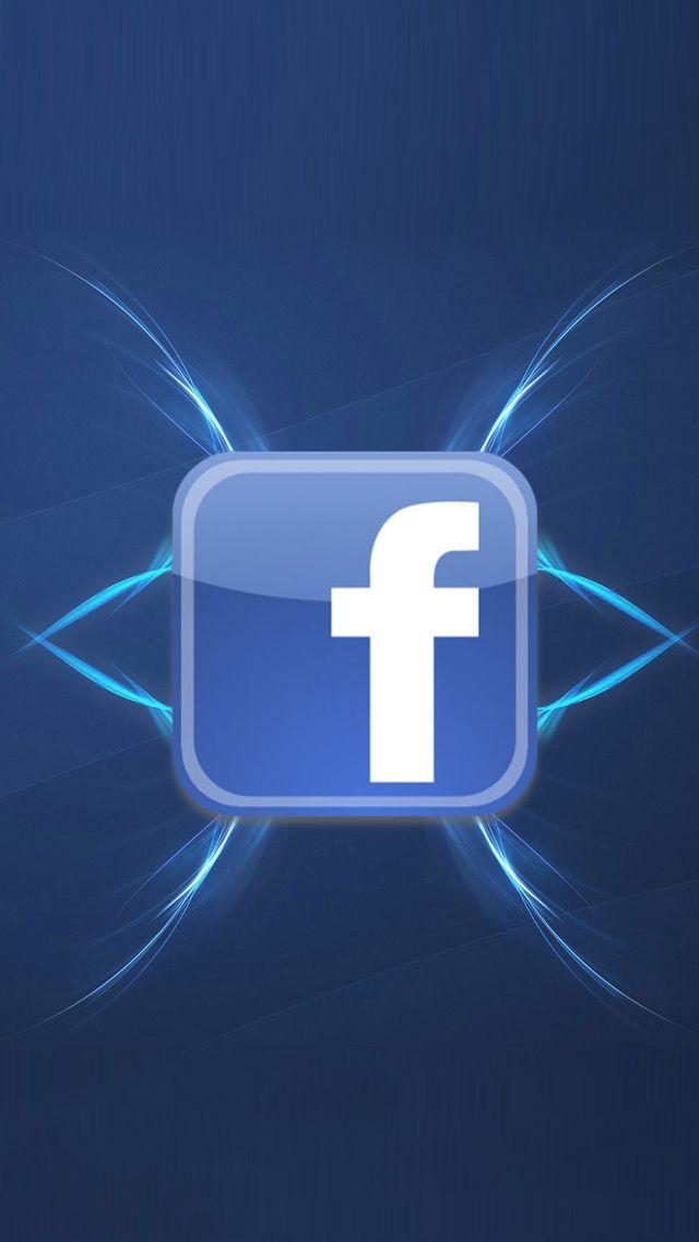 Facebook Logo 02 Blue Wallpaper Facebook Facebook Brand