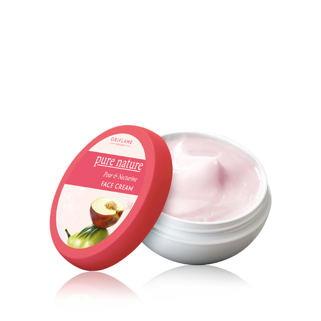26383 Pure Nature Pear & Nectarine Face Cream - Oriflame cosmetics