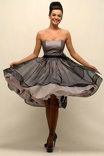50's style quirky funky bridesmaid dress | One Day | Pinterest ...