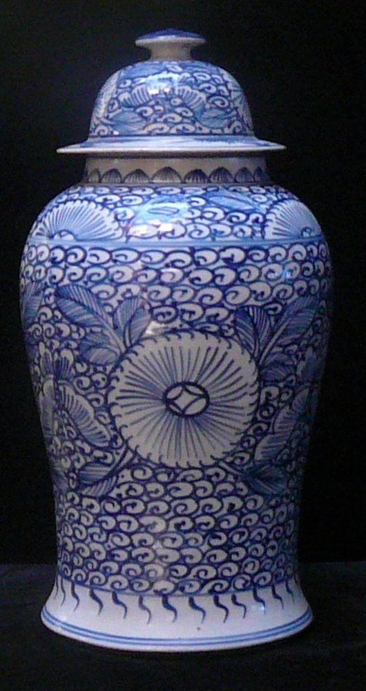 Blue And White Jars Jar