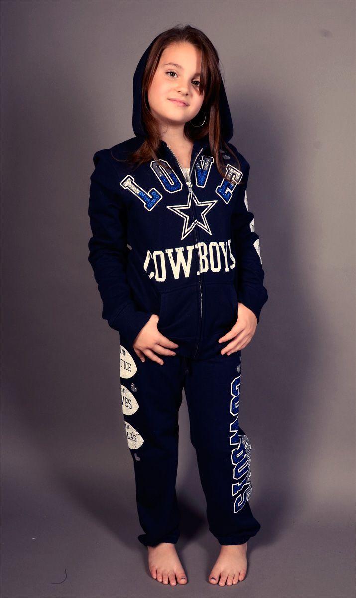 1ab3ee94de4 Dallas Cowboys Justice Full Zip Hoody & Pants | Kids Dallas Cowboys ...