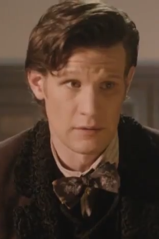 {The Doctor from the Christmas Special 2012 trailer (video on my Doctor Who videos board)} Not very long now :D <3