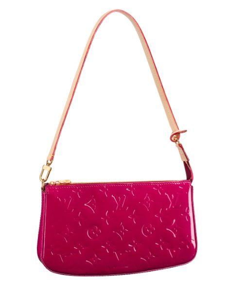 e7fdb94e3ab8 Louis Vuitton Pochette Accesoires NM Monogram Vernis Bag- hot pink and next  on my wish list!