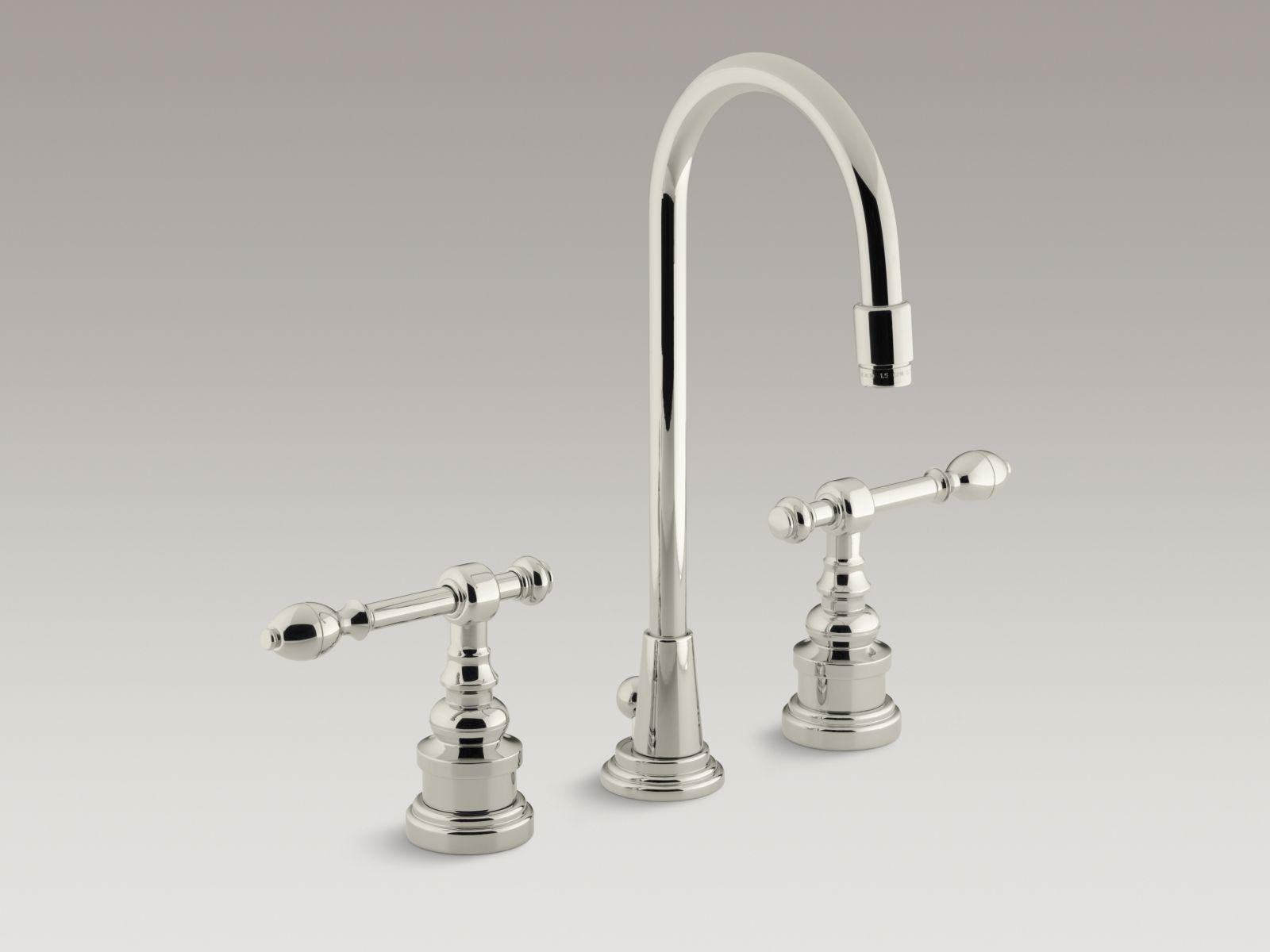 AuBergewohnlich Kohler K 6813 4 SN IV Georges Brass Widespread Bathrom Sink Faucet With · Waschbecken  ArmaturenBadezimmer AmaturenMessinghahnHaus ...