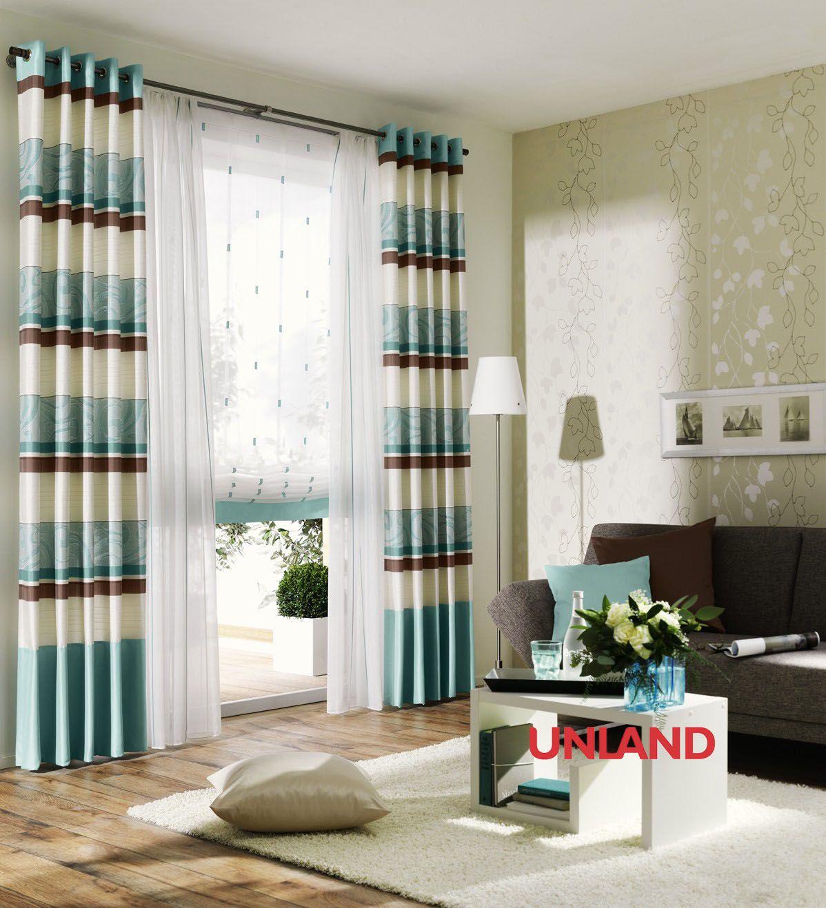 unland aqua fensterideen vorhang gardinen und sonnenschutz curtains contract fabrics. Black Bedroom Furniture Sets. Home Design Ideas