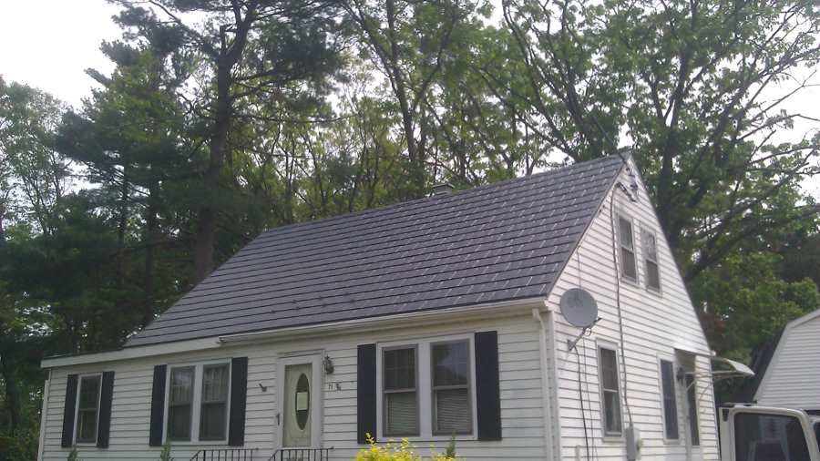 Attractive Metal Shingles Roof In Connecticut