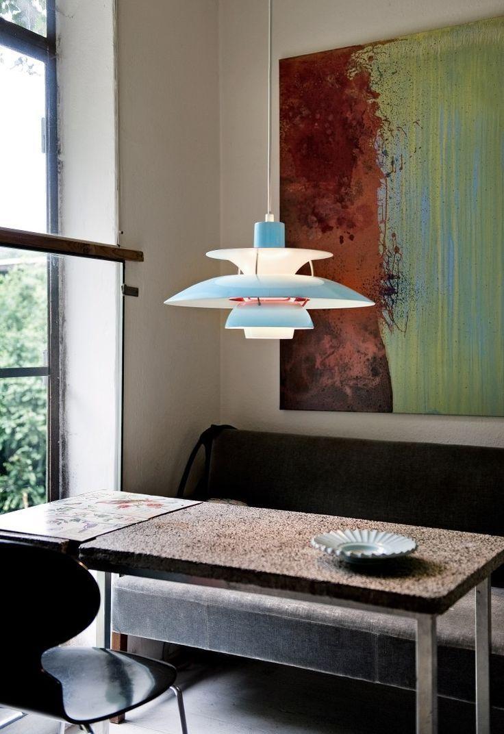 Louis Poulsen PH 50 English InteriorMint BlueFor LampsPendant