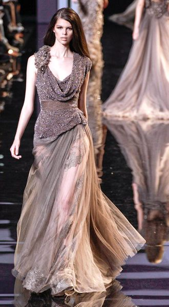 What Lady Mallister would wear Elie Saab