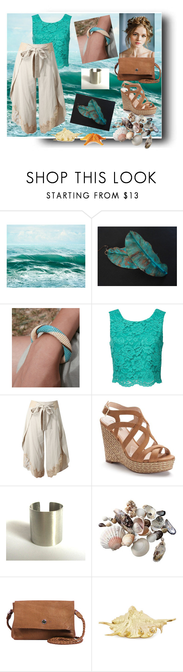 """Turquoise!"" by colchico ❤ liked on Polyvore featuring Jennifer Lopez, Day & Mood and Philmore"