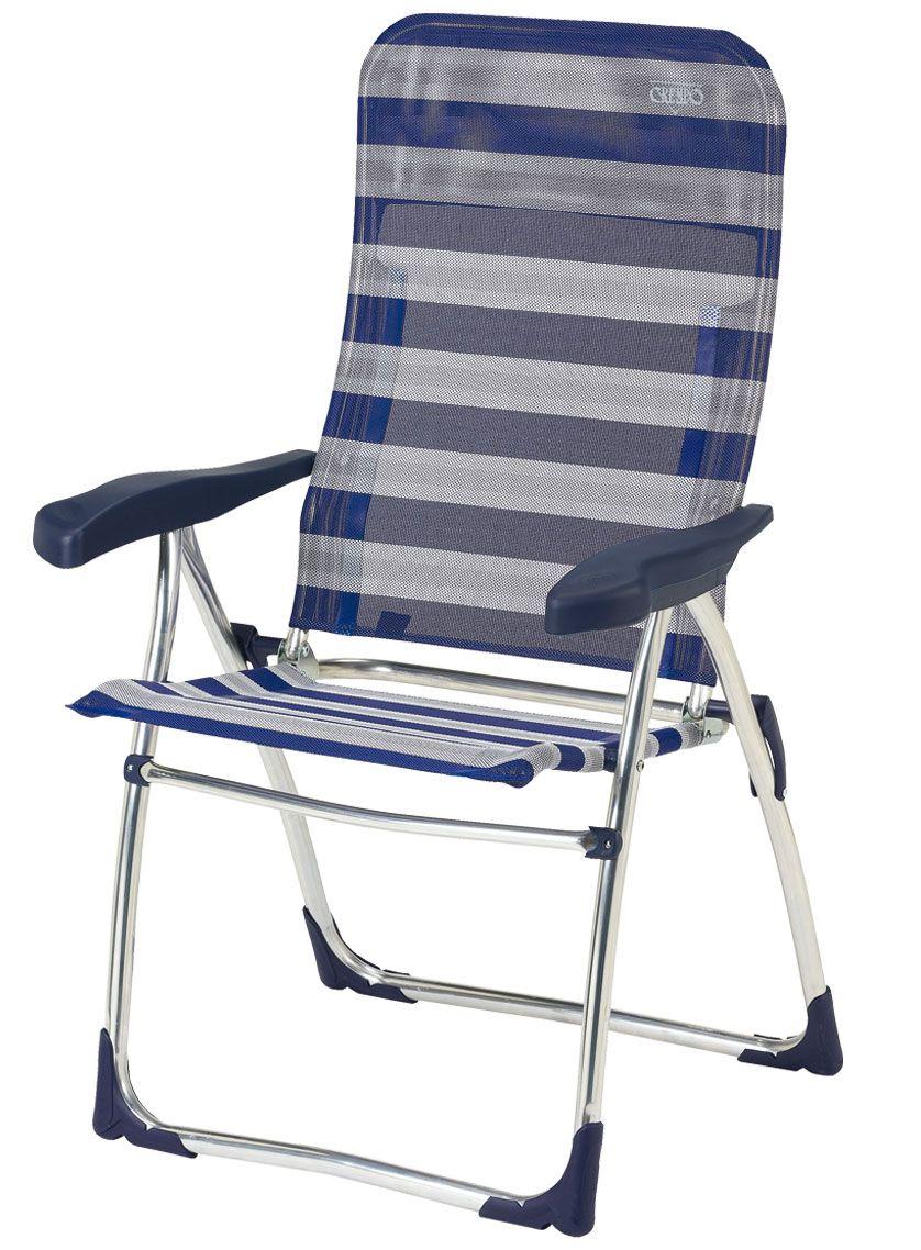 Crespo. Mod. Al-212.Butaca de aluminio con tejido multifibra. Aluminium armchair with multifiber fabric