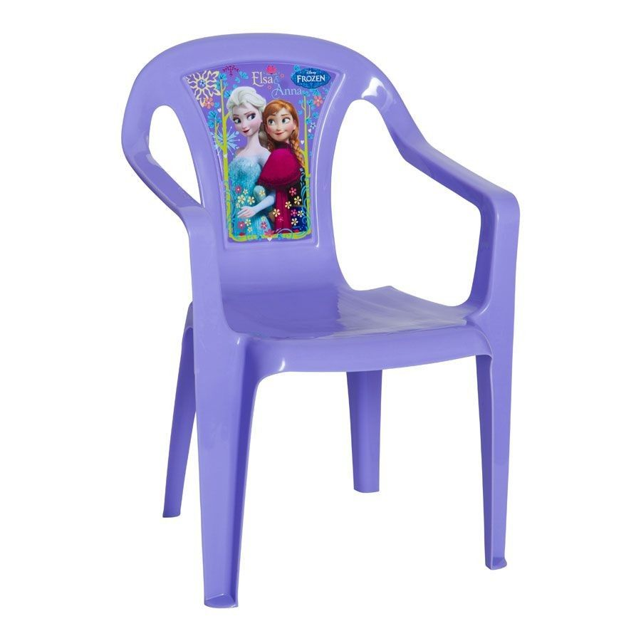 Purple Disney Frozen Plastic Chair For Children. T J Hughes Price £4.99.  Available At