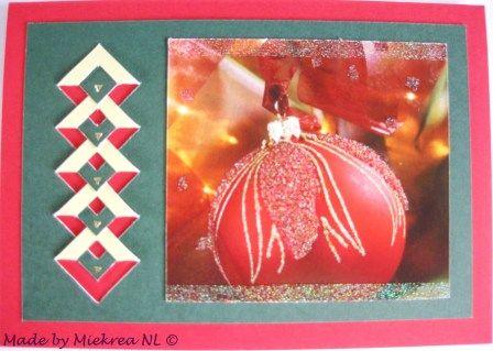 Card 611 S, made by Miekrea NL