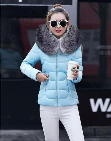 36ef3bd0772 2018 New Winter Jacket Women Faux Fur Hooded Parka Coats Female Long S –  Sunysn