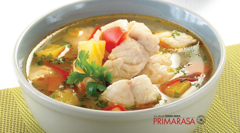 Resep Sup Ikan Kakap Asam Segar Resep Masakan Asia Sup Ikan Makanan