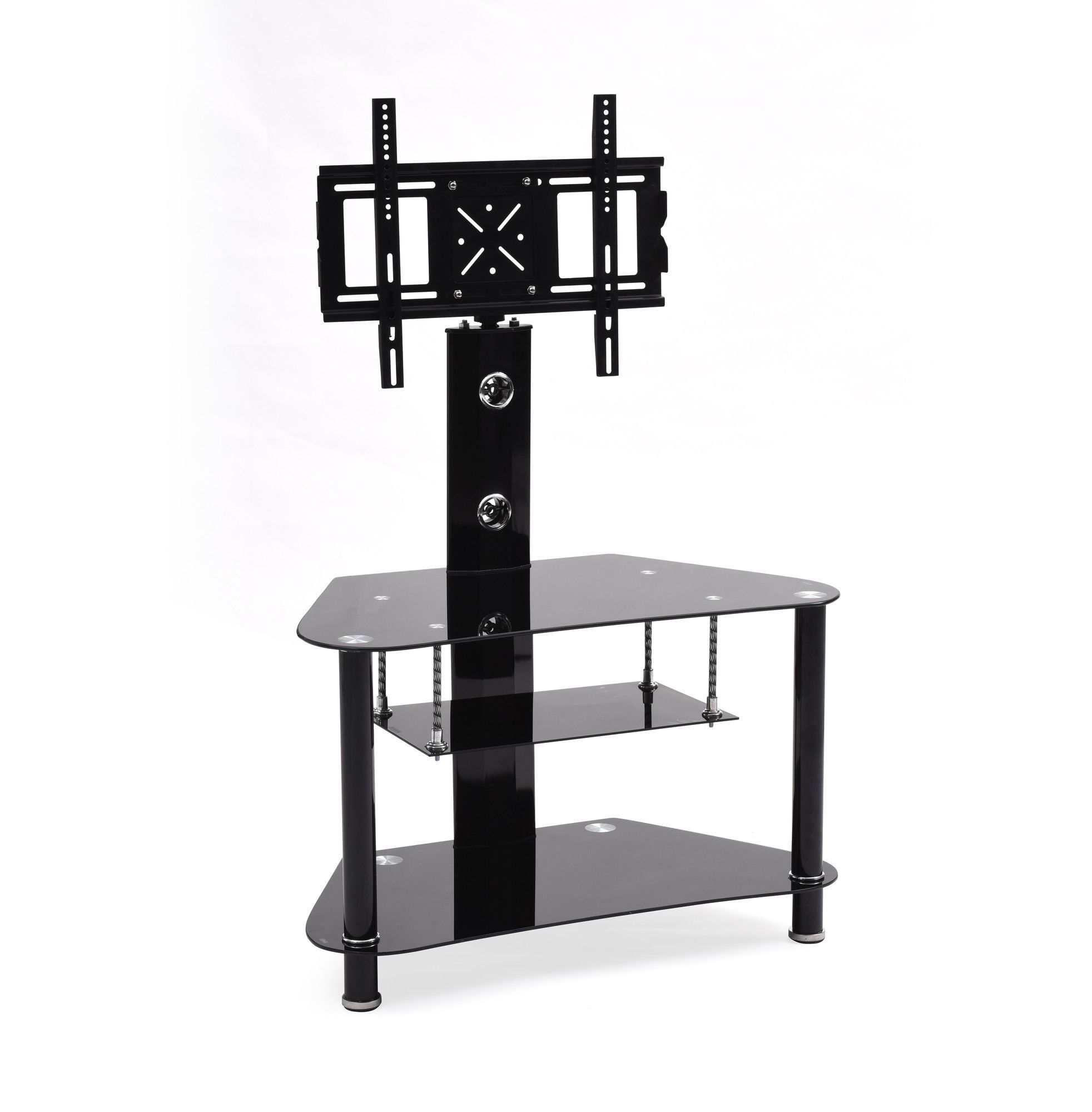 Howard Glass Tv Stand With Mount Swivel Stands Pinterest