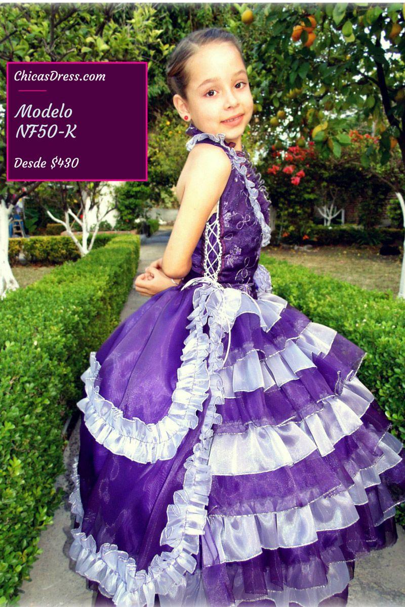 Pin de Vestidos ChicasDress en Catalogo Vestidos de niña de ...